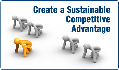 Paradigm helps create a sustainable competitive advantge