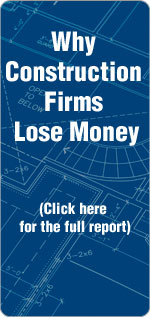 Construction Companies Lose Money